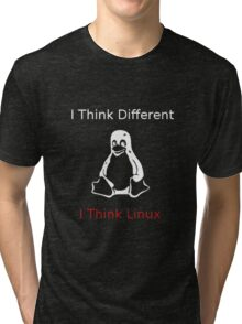 I think Linux Tri-blend T-Shirt