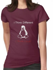 I think Linux Womens Fitted T-Shirt