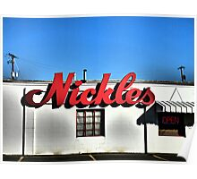 Nickles Bakery Poster