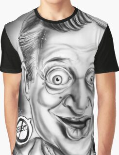 Rodney Dangerfield Caricature Graphic T-Shirt