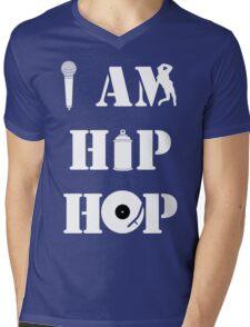 I Am Hip Hop Mens V-Neck T-Shirt
