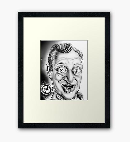 Rodney Dangerfield Caricature Framed Print