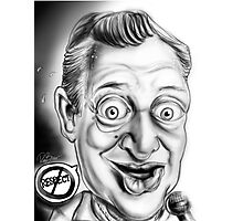 Rodney Dangerfield Caricature Photographic Print