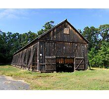 New England Tobacco Barn Photographic Print