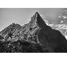 View of Koolau Mountain from Pali Lookout 3  Photographic Print