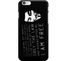 Mask Of Vengeance  iPhone Case/Skin