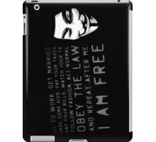 Mask Of Vengeance  iPad Case/Skin
