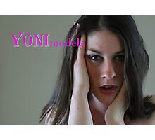 Dalia Rasa Gives a Hot Look on YONImodels Photographic Print