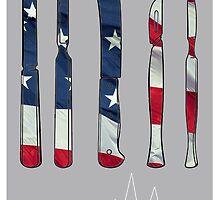 American Mary Minimalist Poster by Kaari