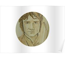 Bilbo Baggins Watercolour Poster