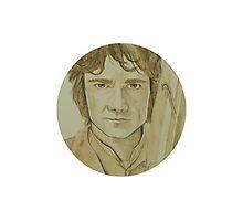 Bilbo Baggins Watercolour Photographic Print