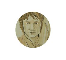 Bilbo Baggins Watercolour Photographic Print