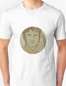Bilbo Baggins Watercolour T-Shirt