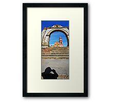 ©MS Portal Shadow IA Framed Print