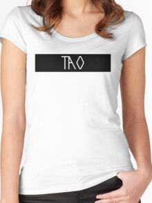 EXO Tao Women's Fitted Scoop T-Shirt