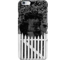 Picket Gate iPhone Case/Skin