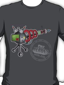 The Accelerated Expiration Ray - Pack Of Heroes T-Shirt