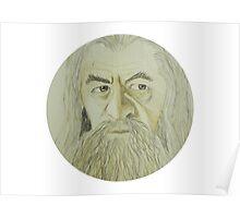 Gandalf Watercolour Poster