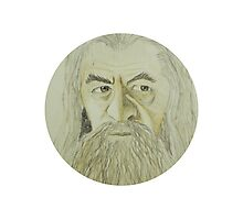 Gandalf Watercolour Photographic Print