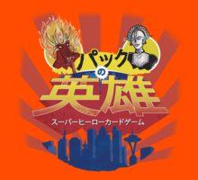 Japanese Pack Of Heroes - Hot Foot Vs Rose 3000  by JohnDC