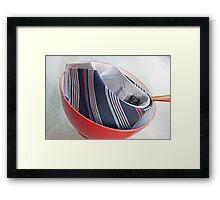Tie Food Framed Print