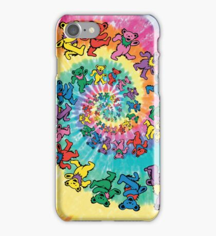 Grateful Dead - Dancing Bears iPhone Case/Skin