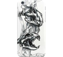 Animal skull iPhone Case/Skin