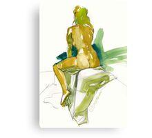 Blond Ambition Canvas Print