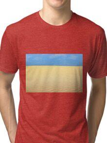 desert landscape Tri-blend T-Shirt