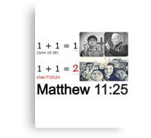 Matthew 11:25 Metal Print