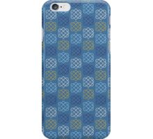 Gemmy Knot Blue iPhone Case/Skin