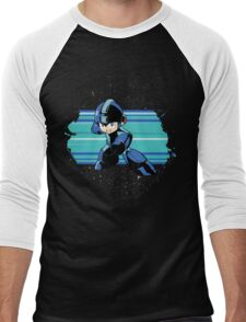Megaman the Hero of 200x and 20xx Men's Baseball ¾ T-Shirt