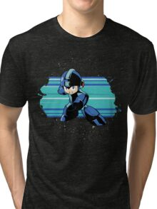 Megaman the Hero of 200x and 20xx Tri-blend T-Shirt