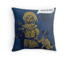 miss jane Throw Pillow