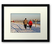 The Winter Walkers Framed Print