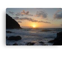 hana sunrise Canvas Print