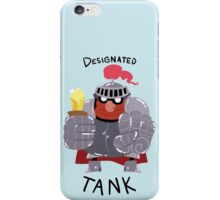 Designated Tank iPhone Case/Skin