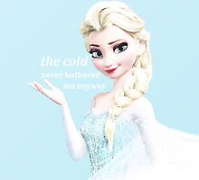 Elsa - Frozen by stllinski