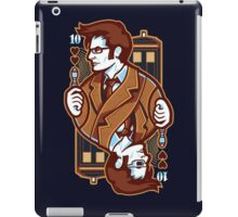 Dr Who [Card ver.] iPad Case/Skin