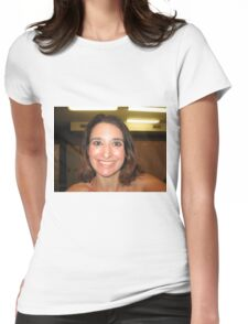self portraiture Womens Fitted T-Shirt