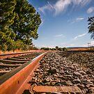 Railroad Tracks Beauty... by Mauds