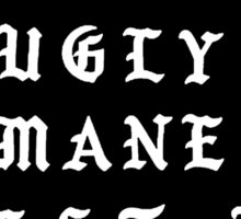 LIL UGLY MANE - REST IN PEACE Sticker