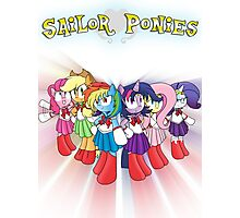 The Sailor Ponies Are Here! Photographic Print