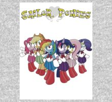 The Sailor Ponies Are Here! One Piece - Long Sleeve