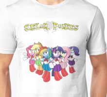 The Sailor Ponies Are Here! Unisex T-Shirt