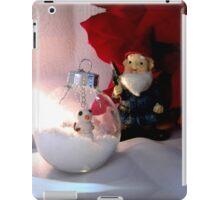 Snowman and Gnome iPad Case/Skin