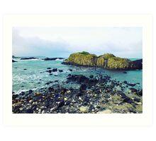 Ballintoy, Co Antrim, Northern Ireland Art Print
