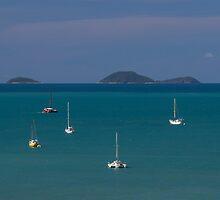 Whitsunday Yachts by Mark Fitzpatrick