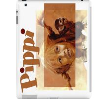 Pippi Longstocking - quote iPad Case/Skin