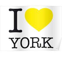 I ♥ YORK Poster